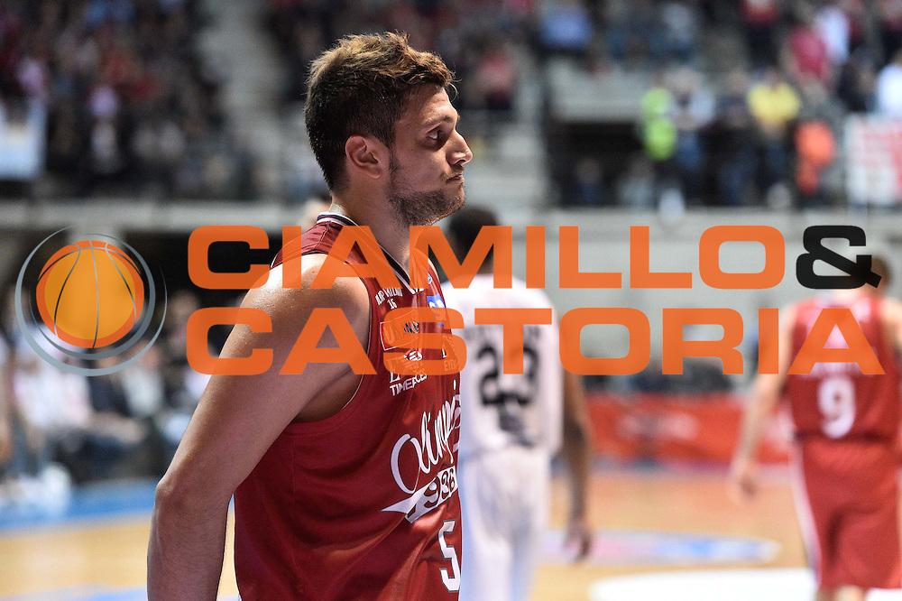Milano 10.05.2016<br /> Basket Serie A - Playoff Gara 2<br /> EA7 Emporio Armani Milano - Dolomiti Energia Trento<br /> <br /> Nella foto: Alessandro Gentile