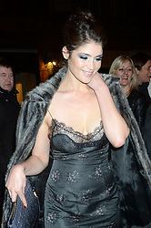 Pictured is Gemma Arterton. Celebrity guests arrive at the UNICEF Halloween ball at One Mayfair, London, United Kingdom. Thursday, 31st October 2013. Picture by Ben Stevens / i-Images