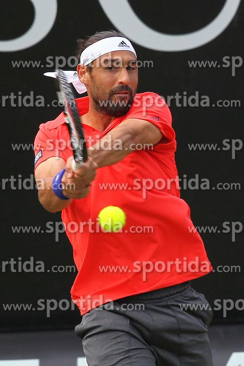 11.06.2015, Tennis Club Weissenhof, Stuttgart, GER, ATP Tour, Mercedes Cup Stuttgart, im Bild Marcos Baghdatis ( CYP ) // during the Mercedes Cup of ATP world Tour at the Tennis Club Weissenhof in Stuttgart, Germany on 2015/06/11. EXPA Pictures &copy; 2015, PhotoCredit: EXPA/ Eibner-Pressefoto/ Langer<br /> <br /> *****ATTENTION - OUT of GER*****