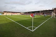 St James Park before the Sky Bet League 2 match between Exeter City and Bristol Rovers at St James' Park, Exeter, England on 28 November 2015. Photo by Graham Hunt.
