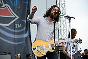 Minus the Bear performing at The Bamboozle in East Rutherford, New Jersey. May 2, 2010. Copyright © 2010 Matt Eisman. All Rights Reserved.