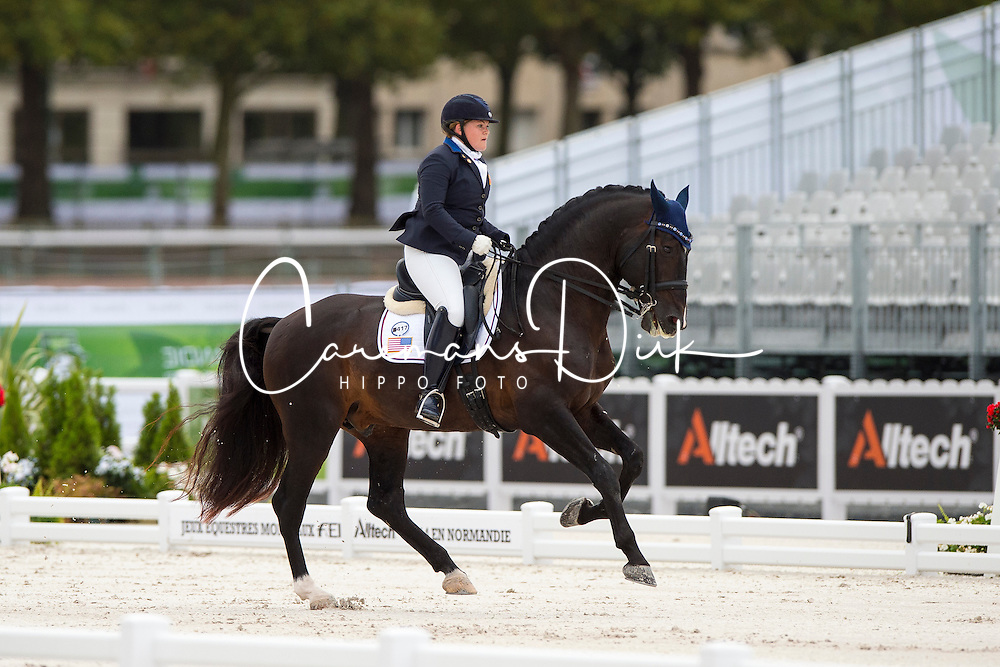 Susan Treabess, (USA), Kamiakin - Individual Test Grade IV Para Dressage - Alltech FEI World Equestrian Games&trade; 2014 - Normandy, France.<br /> &copy; Hippo Foto Team - Jon Stroud <br /> 25/06/14