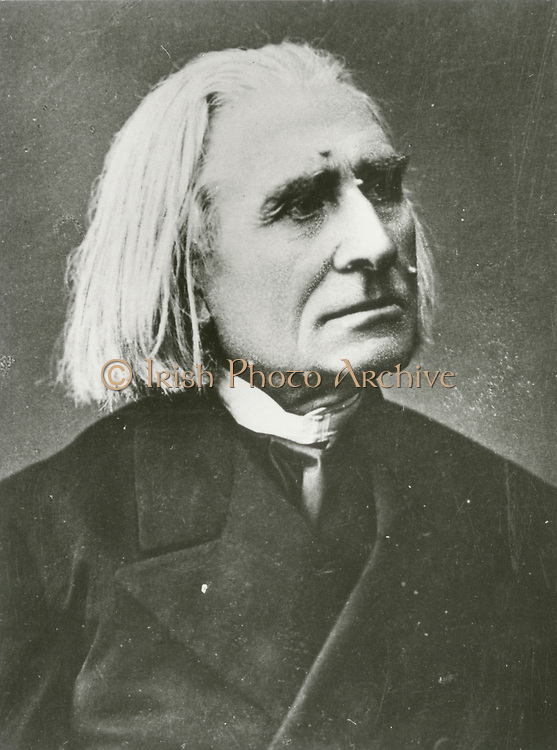 'Franz Liszt (1811-1886) Hungarian composer, pianist and conductor.'