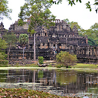 Baphuon Temple  at Angkor Thom in Angkor Archaeological Park, Cambodia<br />
