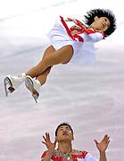 © Filippo Alfero<br /> Torino, 19-01-2007<br /> Sport, Pattinaggio di Figura<br /> Universiadi Invernali Torino 2007 - Pattinaggio di Figura  - Coppie<br /> nella foto: Dan Zhang, Hao Zang (CHN), medaglia d' oro<br /> <br /> © Filippo Alfero<br /> Turin, Italy, 19-01-2007<br /> Winter Universiade Torino 2007 - Figure Skating - Pairs Free Skating<br /> in the photo: Dan Zhang, Hao Zang (CHN), gold medal