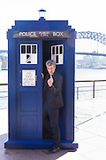 Doctor Who stars Peter Capaldi and Jenna Coleman visit Sydney as part of their world tour to launch the new series Doctor Who. 12 Aug 2014