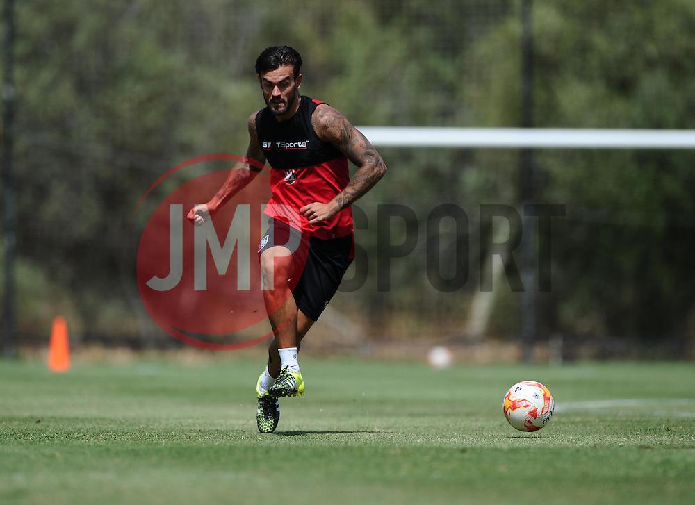 Marlon Pack of Bristol City  - Photo mandatory by-line: Joe Meredith/JMP - Mobile: 07966 386802 - 16/07/2015 - SPORT - Football - Albufeira -  - Pre-Season Training
