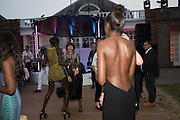 JENNY BASTET; ROSANN BENETT; LEOMIE ANDERSON; , 2016 SERPENTINE SUMMER FUNDRAISER PARTY CO-HOSTED BY TOMMY HILFIGER. Serpentine Pavilion, Designed by Bjarke Ingels (BIG), Kensington Gardens. London. 6 July 2016