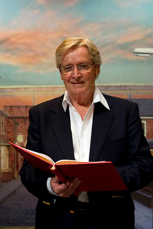 William Roach is the narrator in the stage show, Coronation Street, 50th Anniversary Celebration, Civic Theatre, Auckland, New Zealand, Thursday, March 28, 2013.  Credit:SNPA / David Rowland