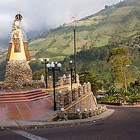 Monumento a la virgen, El Cobre, Tachira, Venezuela.
