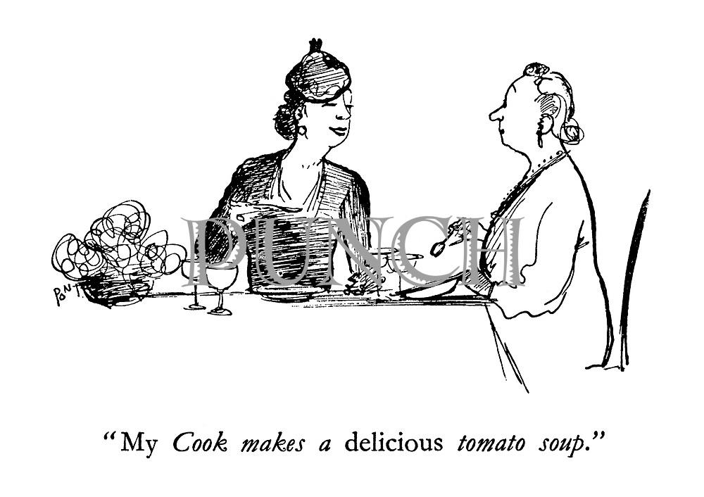 """"""" My Cook makes a delicious tomato soup."""""""