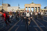 Imams & Rabbis on tandem bikes