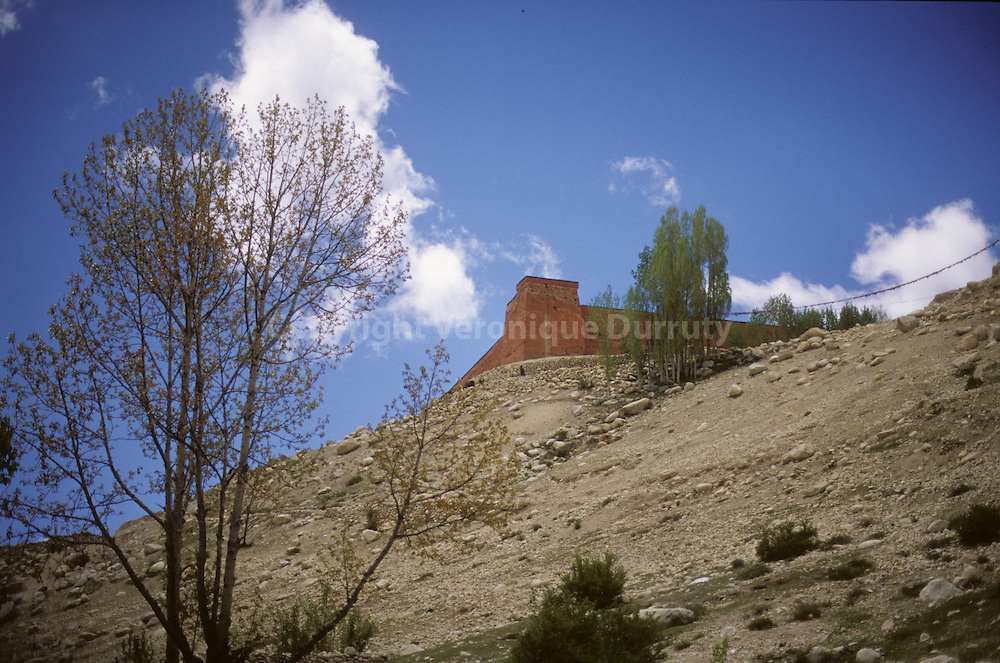 In Lo Manthang, The capital with 1000 inhabitants