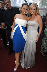 Left to right, MYLEENE KLASS and KATHERINE JENKINS at the Glamour magazine Women of the Year Awards held in the Berkeley Square Gardens, London W1 on 5th June 2007.<br />