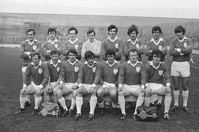 17.03.1972, 03.17.1972, 17th March 1972.Leinster Football Team