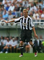 Photo: Andrew Unwin.<br /> Newcastle United v Villarreal. Pre Season Friendly. 05/08/2006.<br /> Newcastle's Damien Duff.