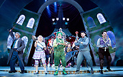 The Wind in the Willows<br /> by Kenneth Grahame adapted by Julian Fellowes with George Stiles and Anthony Drewe <br /> at London Palladium <br /> London, Great Britain <br /> Press photocall <br /> 22nd June 2017 <br /> <br /> Gary Wilmot as Badger <br /> <br /> Denise Welch as Mrs Otter <br /> <br /> Rufus Hound as Mr Toad <br /> <br /> Craig Mather as Mole <br /> <br /> Simon Limpkin as Rat <br /> <br /> <br /> <br /> <br /> Photograph by Elliott Franks <br /> Image licensed to Elliott Franks Photography Services