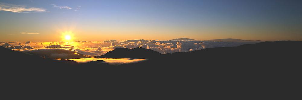 Sunrise, Haleakala, Maui, Hawaii, USA<br />