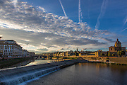 Arno River; Firenze; Florence; Italy