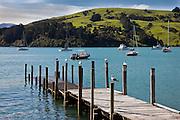 Akaroa Bay, New Zealand