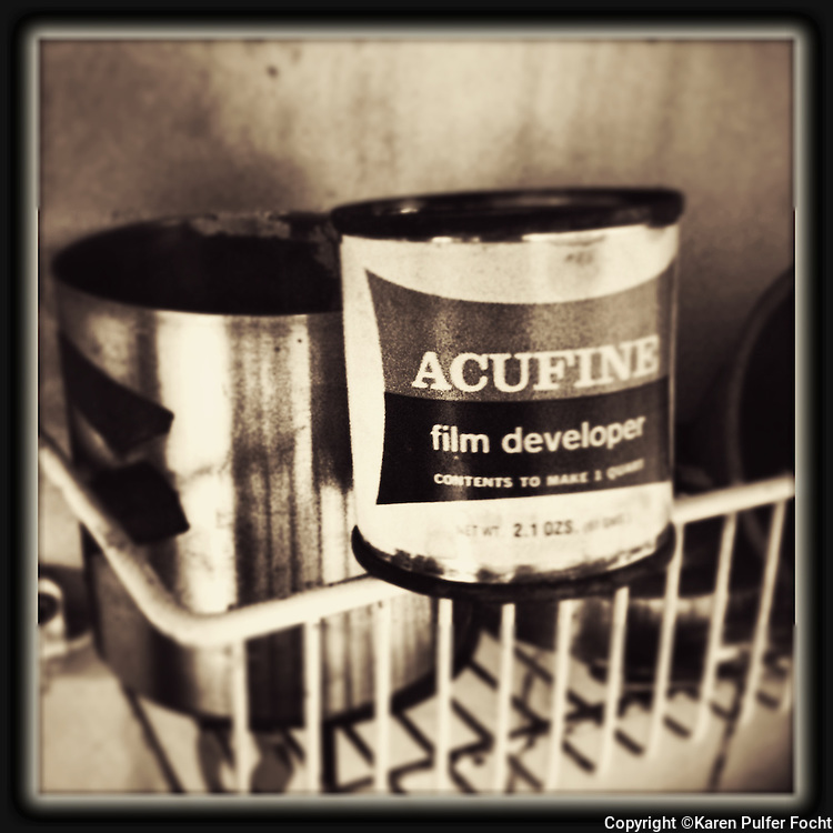 The photo chemical Acufine was used by many photographers to develop film.