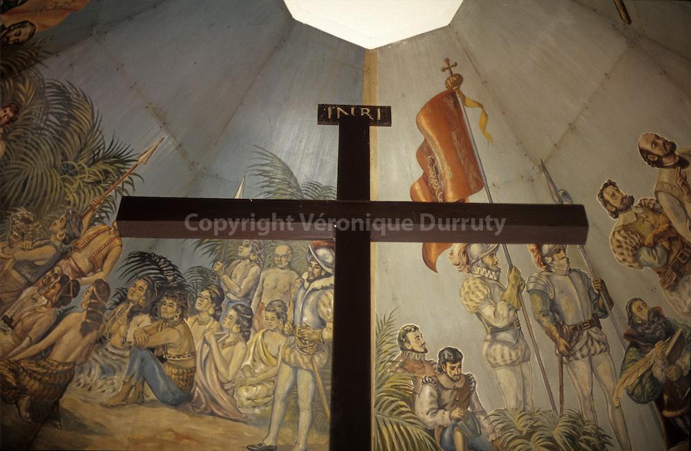 MAGELLAN CROSS, CEBU CITY, CEBU ISLAND, THE VISAYAS, THE PHILIPPINES