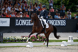 Veeze Bart, NED, Imagine<br /> World ChampionshipsYoung Dressage Horses<br /> Ermelo 2018<br /> © Hippo Foto - Dirk Caremans<br /> 04/08/2018