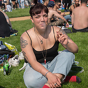 London,UK, 20 April 2018: London 420 Rally - Hyde Park Pro Cannabis Legaslastion Rally