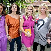 NLD/Oudekerk a/d Amstel/20080618 - Boekpresentatie Vivianne Ewbank, Leontien van Moorsel, Rosanna Lima, Viviane Ewbank, Bridget Maasland, Babette van Veen