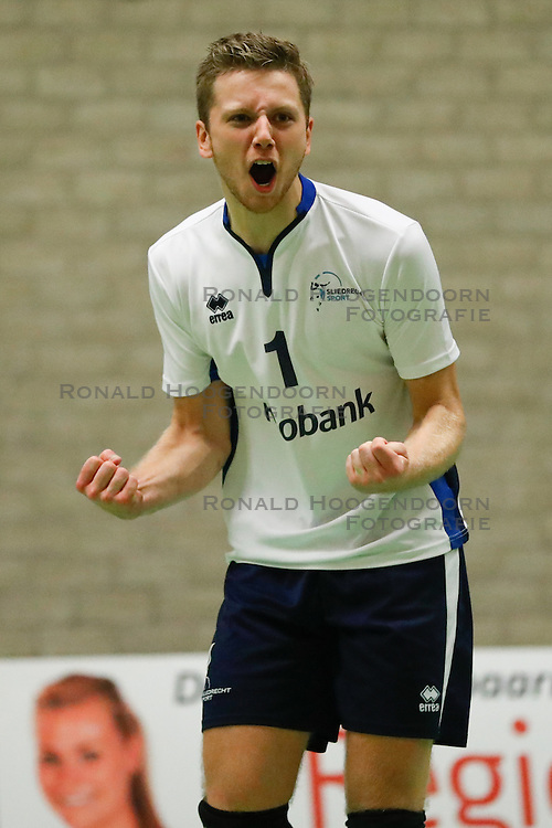 20161126 NED: Beker, Sliedrecht Sport - Pelster Cito: Sliedrecht <br />Niels Vermeulen<br />&copy;2016-FotoHoogendoorn.nl / Pim Waslander