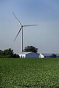 19 July 2011-  Iowa Wind Turbines are photographed for FMC Authority.