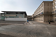 1950s rebuild downtown with Museum of Modern Art Andre Malraux Le Havre France