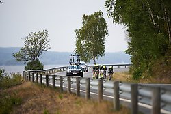 Team TIBCO - SVB at Ladies Tour of Norway 2018 Team Time Trial, a 24 km team time trial from Aremark to Halden, Norway on August 16, 2018. Photo by Sean Robinson/velofocus.com