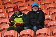 Blackpool fans  during the EFL Sky Bet League 1 match between Blackpool and Bristol Rovers at Bloomfield Road, Blackpool, England on 13 January 2018. Photo by Mark Pollitt.