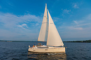 Door County Wisconsin Sailing.  Photo by Mike Roemer Mike@RoemerPhoto.com 920-217-8021