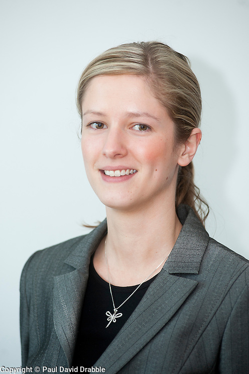 Staphanie Hutchinson of Grant Thornton..http://www.pauldaviddrabble.co.uk.26 March 2012 .Image © Paul David Drabble