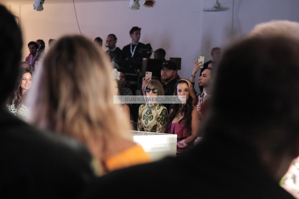 La La Anthony, Kim Kardashian, Anna Wintour, and Dascha Polanco attend Klarna STYLE360 NYFW Hosts S by Serena Fashion Show
