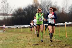 Marusa Mismas of Slovenia #98 competes in the U23 Category of Balkan CC Championships 2015, on November 22, 2015 in Vrbovec, Croatia. Photo by Ales Hostnik / Sportida
