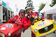 June 12-17, 2018: 24 hours of Le Mans. Fans at the 24 hours of Le Mans