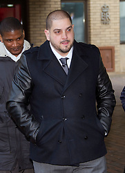 Derek Rose, one of two men accused of blackmailing Tamara Ecclestone at Southwark Crown Court today, London, UK, 18 February, 2013. Photo by: i-Images