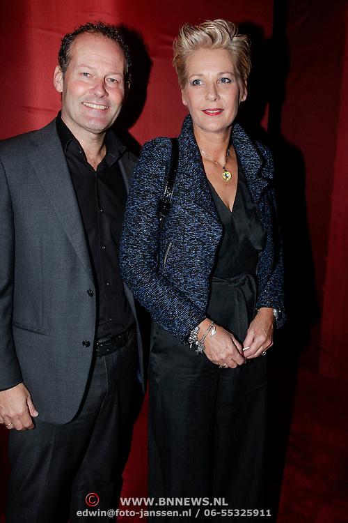 NLD/Amsterdam/20121108 - Premiere Palazzo 2012, Danny Blind en partner Yvonne