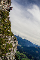 Pinut, Switzerland's odest via ferrata