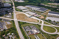 Aerial photo of the Gettysburg Pike Interchange in Pennsylvania by Jeffrey Sauers of Commercial Photographics
