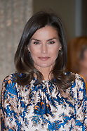 062119 Queen Letizia attends Delivery of the 5th edition of the Discapnet Awards