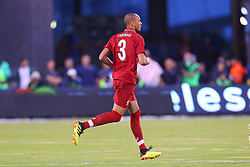 July 25, 2018 - East Rutherford, NJ, U.S. - EAST RUTHERFORD, NJ - JULY 25:  Liverpool midfielder Fabinho (3) during the first half of the International Champions Cup Soccer game between Liverpool and Manchester City on July 25, 2018 at Met Life Stadium in East Rutherford, NJ.  (Photo by Rich Graessle/Icon Sportswire) (Credit Image: © Rich Graessle/Icon SMI via ZUMA Press)