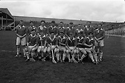 30/04/1967<br /> 04/30/1967<br /> 30 April 1967<br /> National Hurling League, Division II Final: Meath v Kerry at Croke Park, Dublin.<br /> The Meath team.