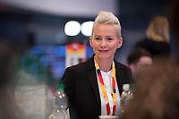 DEU, Deutschland, Germany, Leipzig, 22.11.2019: Silvia Breher, neu gewählte stellvertretende CDU-Vorsitzende, beim Bundesparteitag der CDU in der Messe Leipzig.