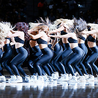 02 April 2017: San Antonio Spurs Silver Dancers perform during the San Antonio Spurs 109-103 victory over the Utah Jazz, at the AT&T Center, San Antonio, Texas, USA.