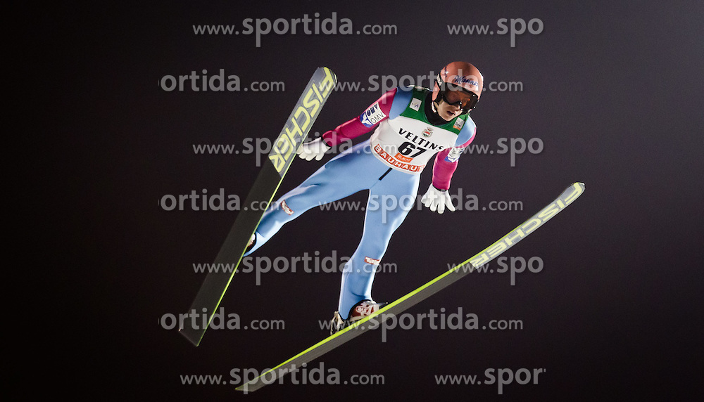 29.11.2014, Nordic Arena, Ruka, FIN, FIS Weltcup Ski Sprung, Kuusamo, Bewerb, im Bild Stefan Kraft (AUT) // during Mens Competition of FIS Ski Jumping World Cup at the Nordic Arena in Ruka, Finland on 2014/11/29. EXPA Pictures © 2014, PhotoCredit: EXPA/ JFK