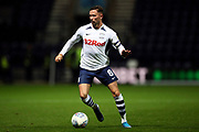 Preston North End midfielder Alan Browne (8) during the EFL Sky Bet Championship match between Preston North End and Stoke City at Deepdale, Preston, England on 21 August 2019.